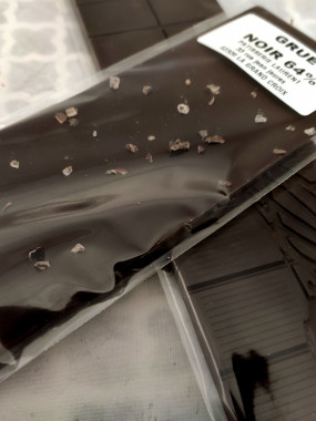 Tablette de Chocolat Noir 64% GRUE