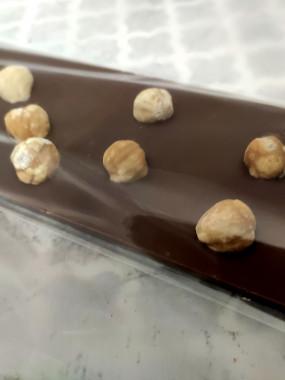 Tablette de chocolat LAIT 38% noisette