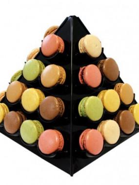 Macaron  Assortiment pyramide x24 pièces