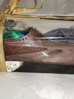 CHOCO chaussure Homme chocolat noir