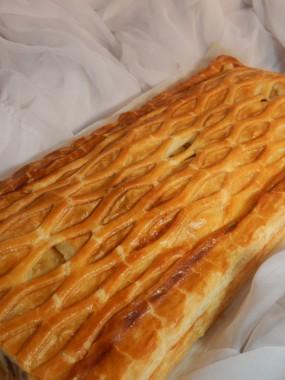 Feuilleté jambon/champignon