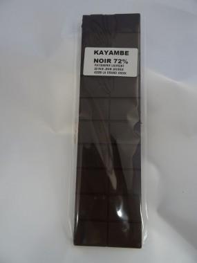 Tablette de chocolat Kayambe Noir 72%