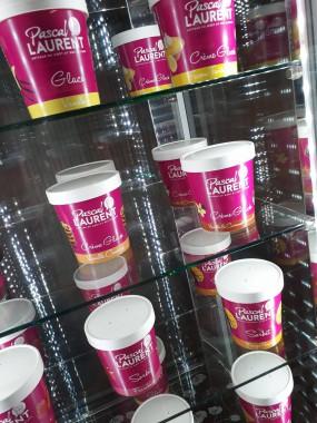 Pot de Glace crème glacée chocolat brownies/coulis chocolat   1/2 Litre